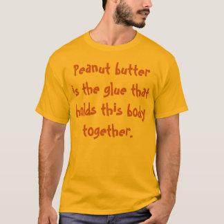 Camiseta T-shirt do amante da manteiga de amendoim