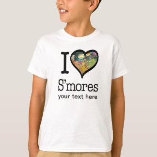 Camiseta T-shirt do amante de S'mores
