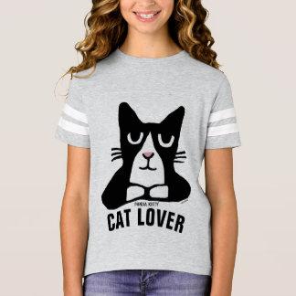 Camiseta T-shirt do AMANTE do CAT para miúdos