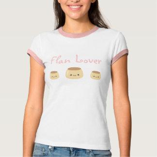 Camiseta T-shirt do amante do Flan