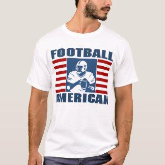 Camiseta T-shirt do americano do futebol