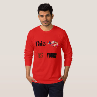 Camiseta T-shirt do amor