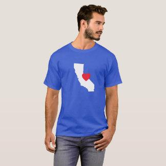 Camiseta T-shirt do amor de Califórnia