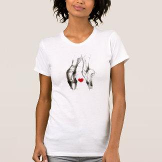 Camiseta T-shirt do amor do balé