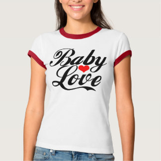 Camiseta T-shirt do amor do bebê