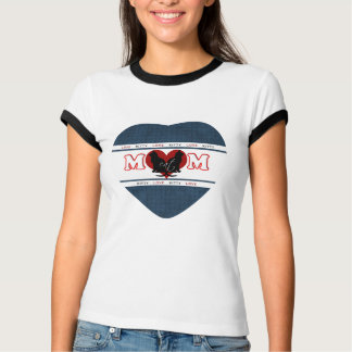 Camiseta T-shirt do amor do gatinho da mamã do gato