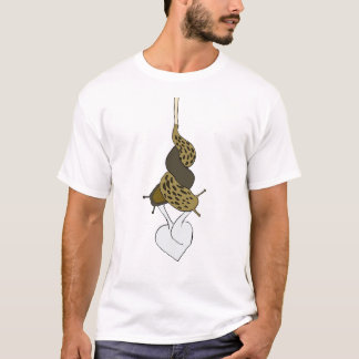 Camiseta T-shirt do amor do Slug