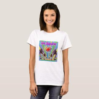 Camiseta T-shirt do amor do verão de Los Angeles