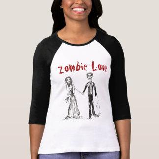 Camiseta T-shirt do amor do zombi