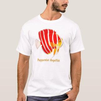 Camiseta T-shirt do Angelfish do Peppermint do recife de
