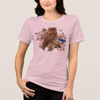 Camiseta T-shirt do animal do espírito da coruja