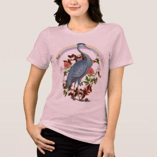 Camiseta T-shirt do animal do espírito da garça-real