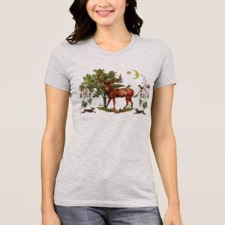 Camiseta T-shirt do animal do espírito do veado