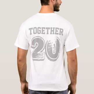 Camiseta T-shirt do aniversário
