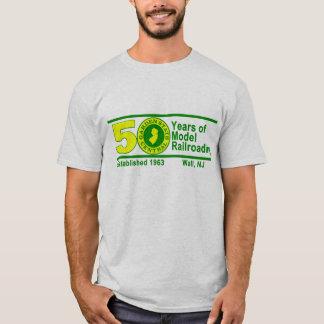 Camiseta T-shirt do aniversário de GSC 50th