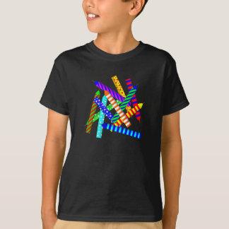 Camiseta T-shirt do aniversário do adolescente de onze anos