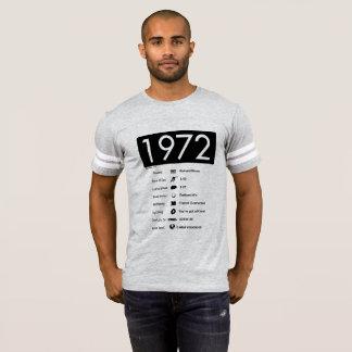 Camiseta t-shirt do ano 1972-Great