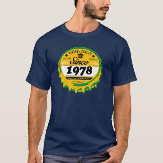 Camiseta T-shirt do ano do nascimento - 1978