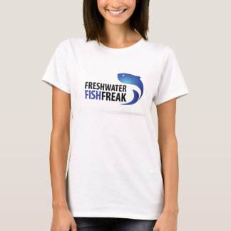 Camiseta T-shirt do anormal dos peixes de água doce
