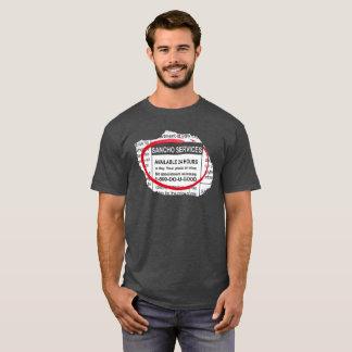 Camiseta T-shirt do anúncio de Sancho