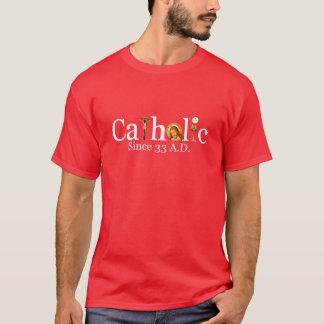 Camiseta T-shirt do ANÚNCIO do católico 33