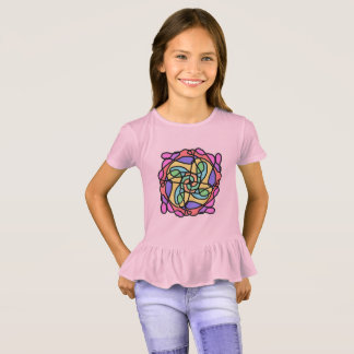 Camiseta t-shirt do arco-íris