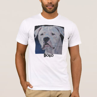 Camiseta t-shirt do argentino do dogo