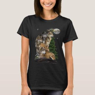 Camiseta t-shirt do artt do lobo