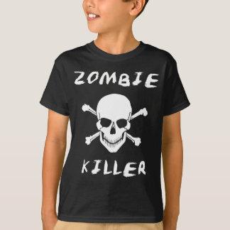 Camiseta T-shirt do assassino do zombi - fã inoperante de