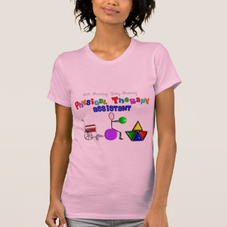 Camiseta T-shirt do assistente da fisioterapia