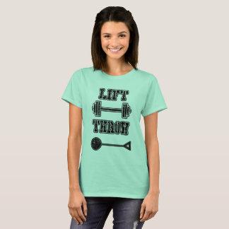 Camiseta T-shirt do atirador de martelo do atletismo