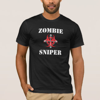 Camiseta T-shirt do ATIRADOR FURTIVO do ZOMBI (Ver 4)