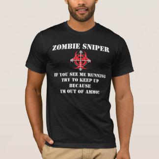 Camiseta T-SHIRT do ATIRADOR FURTIVO do ZOMBI (VERSÃO 7)