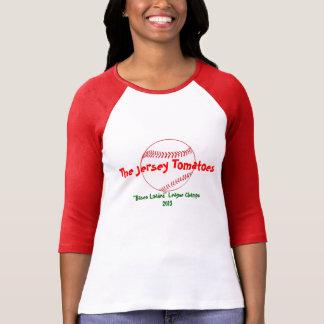 Camiseta T-shirt do basebol da fantasia