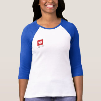 Camiseta T-shirt do basebol da igreja de YG