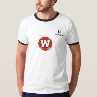 Camiseta T-shirt do basebol de #13 Seijika Hamunashi pro