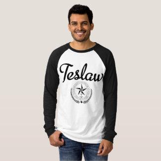 Camiseta T-shirt do basebol de TESLAW