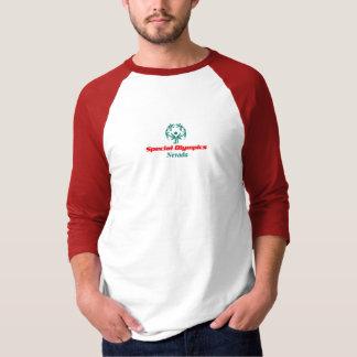 Camiseta T-shirt do basebol dos homens