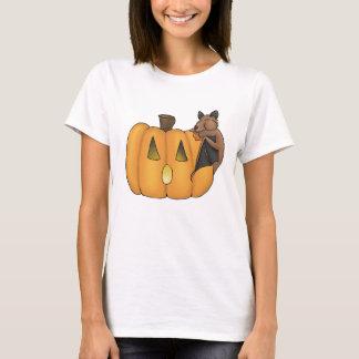 Camiseta T-shirt do bastão do deleite do Dia das Bruxas
