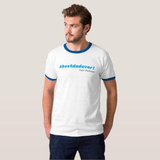 Camiseta T-shirt do #bestdadever
