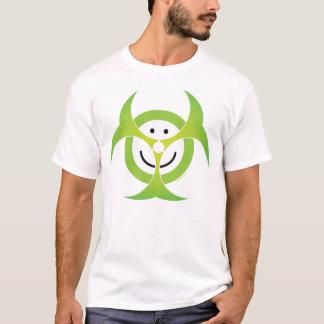 Camiseta T-shirt do Biohazard do smiley face