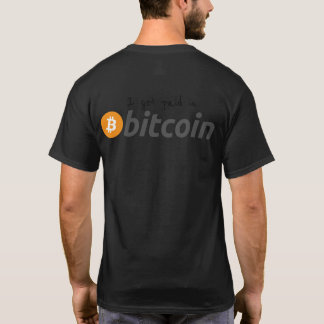 Camiseta t-shirt do bitcoin, t-shirt de BTC