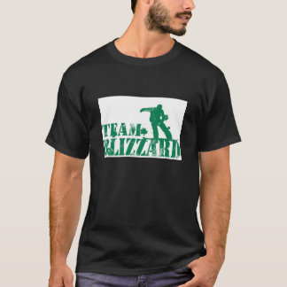 Camiseta T-shirt do blizzard da equipe