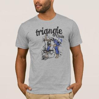 Camiseta T-shirt do bloqueador do triângulo