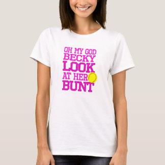 Camiseta T-shirt do bojo do softball