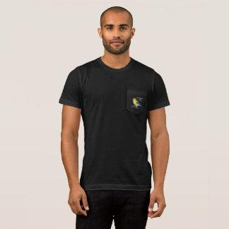 Camiseta T-shirt do bolso dos homens da preservação do