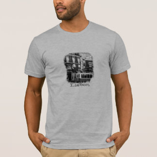 Camiseta T-shirt do bonde de Lisboa