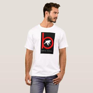 Camiseta T-shirt do branco da floresta do babuíno
