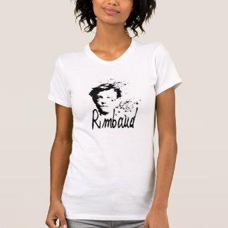 Camiseta T-shirt do branco das mulheres de RIMBAUD