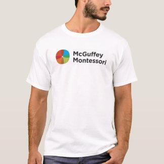 Camiseta T-shirt do branco do desgaste do espírito do